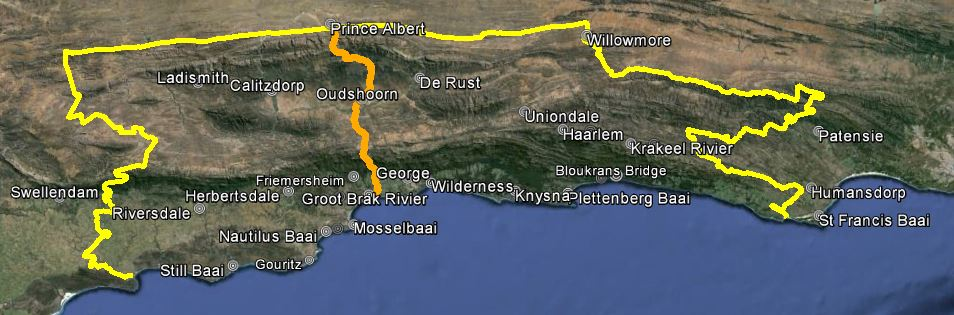 Knysna Fire Map.Southern Cape Fire Protection Association Garden Route South Africa